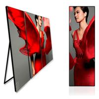 Buy cheap Full Color LED Poster Screen / Internal Led Poster Board High Definition from wholesalers