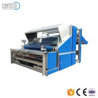 Buy cheap SUNTECH Popular Automatic Knitted Cloth Fabric Inspecting Measuring Machine Knitted Fabric Inspection Machine and Length from wholesalers
