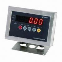 Buy cheap LED/LCD Digital Scale Indicator with RS485 Communication Mode and 12V DC Power from wholesalers