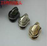 Buy cheap Eco-friendly zinc alloy bag accessories nickel color metal train head zipper slider 15# from wholesalers