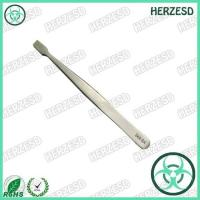 Buy cheap 34A-SA High Precision Flat Tip ESD Tweezers With Thin Square Flat Tips from wholesalers