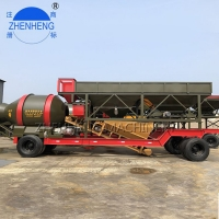 Buy cheap 50CBM/H Small Mobile Concrete Batching Plant JZM1000 Drum Easily Move from wholesalers