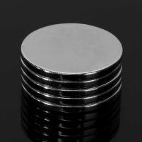 Buy cheap 20mm x 2mm disc Cylinder Magnets Rare Earth Neodymium Magnets Strong Circular magnet  N50 from wholesalers