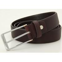 Buy cheap 100% genuine leather men dress belts for trousers from wholesalers
