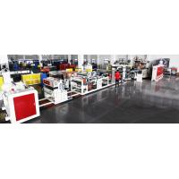 Buy cheap HIPS ABS PP Sheet Single Screw Extrusion Machine , Hdpe Sheet Extrusion Line from wholesalers