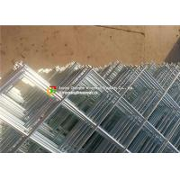 Buy cheap Diagonal Square Hole Welded Wire Mesh Electro Galvanized For Ornamental / Building from wholesalers