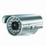 Buy cheap CCTV Weatherproof IR CMOS Camera with IR-cut, 600TVL Resolution and 50m IR Working Range from wholesalers