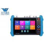 Buy cheap 7 Inch IPS Touch Screen CCTV Security Camera Tester , 4K H.265 IP Cctv Camera Video Tester from wholesalers