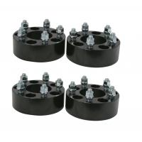 Buy cheap 2 50mm 5x114.3 5x4.5 Hubcentric Black Wheel Spacers Mustang GT500 Shelby Cobra SVT GT 2.0 from wholesalers