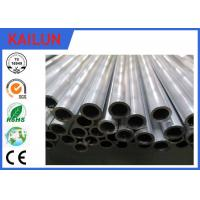 Buy cheap 25mm / 30 mm Cutting Extruded Aluminium Tube With Mill Finish Treatment from wholesalers