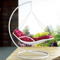 Premium Indoor Outdoor Furnitures PE Rattan White Day Bed Style Swing Hanging Chair Manufactures