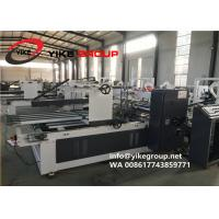 Buy cheap Automatic Siemens Corrugated Carton Box Folder Gluer With PE Strapper Machine from wholesalers