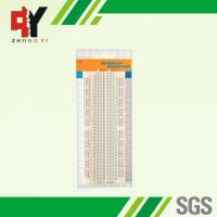 Buy cheap 840 points connected breadboard with blue and red coordinates from wholesalers