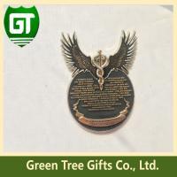 Buy cheap Eagle design High 3D effect challenge military challenge coin with cusom design from wholesalers