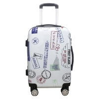 Wholesale TSA Lock 8x Mute Wheels Color OEM Polycarbonate Luggage Sets from china suppliers