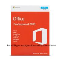 Buy cheap English Professional Office 2016 Retail Box PKC FPP Origianl Key from wholesalers