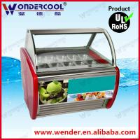 Buy cheap 12GN italian ice cream display case ice cream display showcase acrylic ice cream display from wholesalers