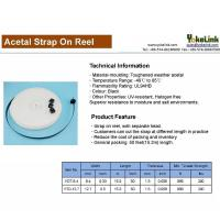 Buy cheap 50 feet Reels Acetal Strap Cable Ties with Double Locking Heads from wholesalers