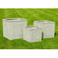 Buy cheap Fiber Clay Pots, outdoor pots, garden pots FY03 Tall Cube Planter Box from wholesalers