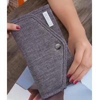 Buy cheap Nylon Material Credit Card Organizer Wallet / Card And Money Holder With Snap Button from wholesalers
