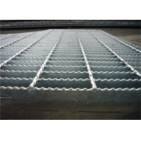 Buy cheap Metal bar safety steel grating step with hot dipped galvanized 7/16''/25x3 steel grating from wholesalers