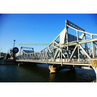 Low Cost Heavy Structural Steel Bridge Fabrication Fast Assembling Manufactures