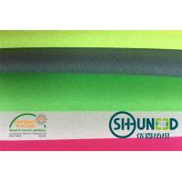 Buy cheap 100% Polyester Plain Weave Fusible Woven Interlining For Lady ' s Thin Fabric from wholesalers