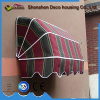 High grade French style window awning/aluminum retractable French door awning