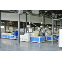 Buy cheap PVC WPC Window Decking Sheet Extrusion Line 260kg/H For Containers from wholesalers