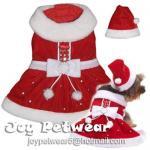 Buy cheap Christmas dog clothes,santa dog dress from wholesalers