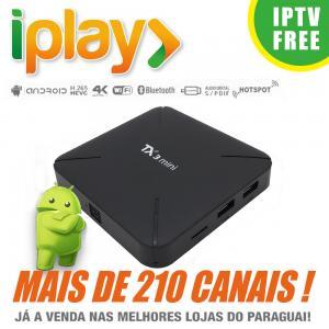 Wholesale TX3 Mini IPTV Box B Pro Iplay APK Portuguese TV Streaming Box Live Movies Brazil Media Player from china suppliers