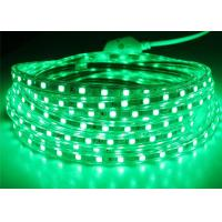 Buy cheap Green High Voltage LED Strip 165 Feet / Roll 14.4W / M Lamp Power from wholesalers