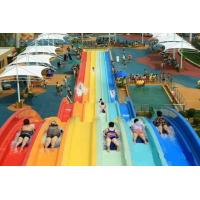 Wholesale Classic Adult Rainbow Race Water Park Slide / Water Sports Equipment from china suppliers