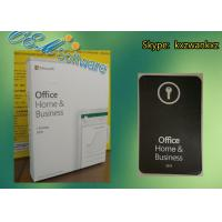 Buy cheap Retail Box Microsoft Office Home And Business 2019 Product Key Dvd FPP from wholesalers