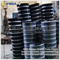 Wholesale 40Cr Mud Pump Parts Piston NBR Rubber AH000004050200 AH000004060200 Forged Steel from china suppliers
