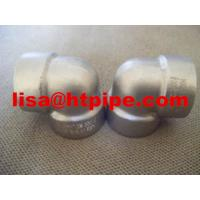 Wholesale duplex stainless ASTM A182 F54 socket weld 90 deg elbow from china suppliers