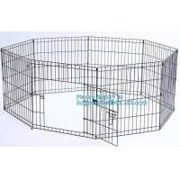 Wholesale Manufacturer wholesale stainless steel metal large small foldable carriers cheap pet dog cage, Large Steel Dog Cage For from china suppliers