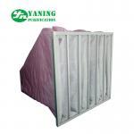 Buy cheap M6-M9 Pocket medium efficiency bag filters for HVAC system polyester pocket filter from wholesalers