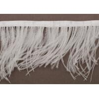 Buy cheap White Feather Handmade Fringe Trimmings for Apparels and Crafts from wholesalers