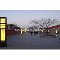 Buy cheap Onyx Street Lamp, LED,Yellow Color,Natural Marble Products from wholesalers