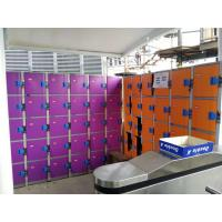 Plastic Gym Lockers Wtih Master Combination Padlock , 4 Tier Employee Storage for sale