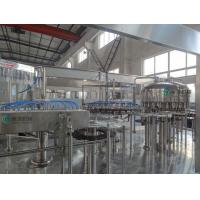 Automatic Beverage Filling Machine , Soda Drinks Filling Line Manufactures