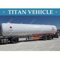 Wholesale Truck LPG Tanker Trailer , Liquefied Natural Gas Methanol LPG Propane Tanker from china suppliers