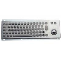 Wholesale MKT2631 Compact Metal Keyboard with Trackball from china suppliers