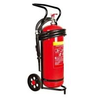 Buy cheap 50 kg Trolley Wheeled Dry Powder Fire Extinguisher Test Pressure 25 Bar For Subway from wholesalers