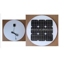 Wholesale 24 Volt Round Solar Panels Waterproof Suit On/Off Grid System With Self Cleaning from china suppliers