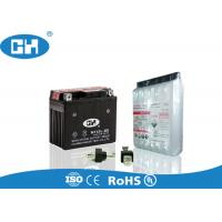 Buy cheap Dry Charged 12v Motorbike Battery , 12v 5ah Motorcycle Battery With Acid Pack from wholesalers