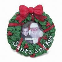 Buy cheap Handmade Photo Frame, Suitable for Christmas Gift, with Resin Board from wholesalers