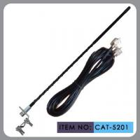Buy cheap 27Mhz Frequence Car CB Antenna 2 / 3 / 4ft Fiberglass Mast 500 Watts product