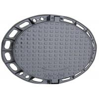 Buy cheap Round Circular Manhole Cover Cast Iron Shock Absorption For Ocean Shipping from wholesalers